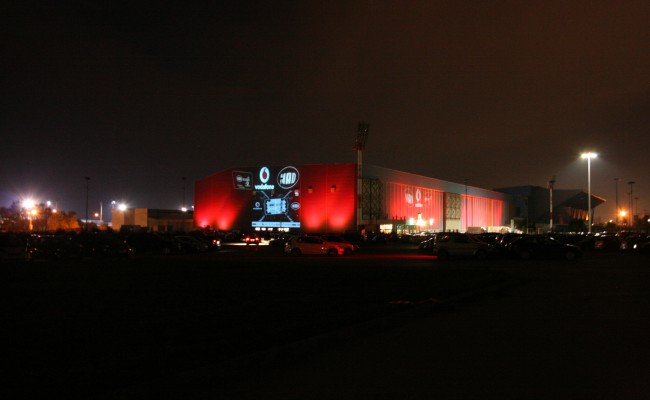 MADWALK FENCING STADIUM IN RED by SOUNDWORKS